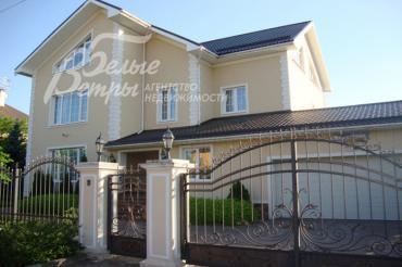 Меблированный дом 672кв.м с бассейном, гаражом и квартирой песонала в КП Изумрудная долина, Калужское или Киевское шоссе, в 20 км от МКАД.
