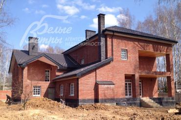 Дом в английском стиле в коттеджном поселке Антоновка (Летова роща), в 7 км от МКАД на Калужском шоссе